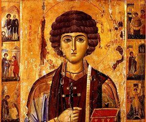 Εμφάνιση του αγίου Παντελεήμονα και φροντίδα για μόνιμη παρουσία του στην Μονή!
