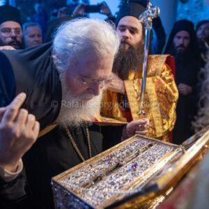 Συγκινητική η επιστροφή του Γέροντα Εφραίμ στη Μονή της μετανοίας του