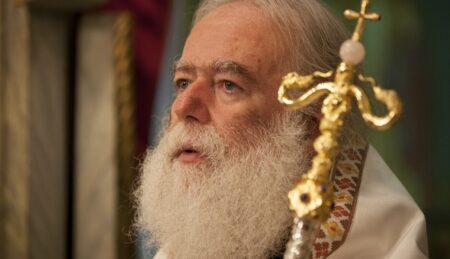 """Ο Πάπας και Πατριάρχης Αλεξανδρείας και πάσης Αφρικής Θεόδωρος Β' για την ταινία """"Ο Άνθρωπος του Θεού""""."""