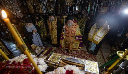 Πανήγυρις Αγίου Ευδοκίμου στην Ιερά Μεγίστη Μονή Βατοπαιδίου